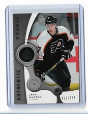 2005-06 SP GAME USED #113 JEFF CARTER RC UD ROOKIE /999 FLYERS