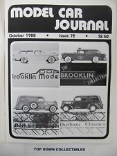 Model Car Journal  Magazine  October  1988     Pocher's Testarossa
