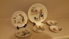 Red Wing Round Up Dinnerware - 7 Piece Place Setting