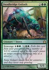 FOIL PROMO RELEASE Golia di Pontemorto - Deadbridge Goliath MTG MAGIC Ita
