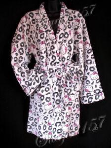 =(^._.^)= HELLO KITTY 2 Piece SUPER PLUSH Robe Set!! Sz.S - NWT!!!