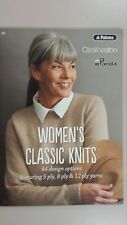 Patons Classic 301 Ladies Knitting Patterns Book Size XS - XXL Easy 5 8 & 12ply
