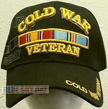 LICENSED COLD WAR USA VICTORY COMMEMORATIVE RIBBON WARRIORS VETERAN VET CAP HAT