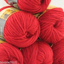NEW Lot of 6 x50g balls Chunky Hand Coarse Knitting Rainbows Wool Quick Yarn 830