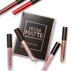 Focallure Ultra Matte Long Lasting Lip Colour Lipstick Set Kit No.3