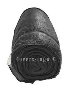 BLACK DEBRIS NETTING SCAFFOLD SHEETING GARDEN SCREEN CROP WINDBREAK 2M X 20M