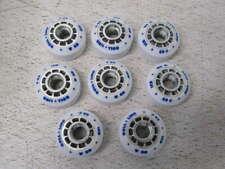 New listing Roll-Line Ice Dance Roller Skate Wheels (Set of 8, 63mm)