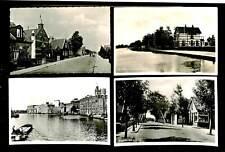 NEDERLAND NH 4 x FOTO ANSICHTKAART =WORMER = PR
