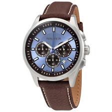 Nautica Chronograph Ice Blue Dial Watch A16694G