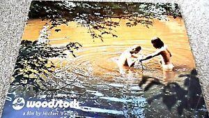 WOODSTOCK (1970) CINEMA FILM MOVIE SOUVENIR BROCHURE PROGRAMME