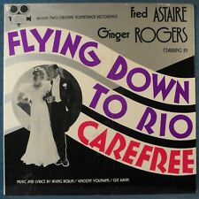 FRED ASTAIRE/GINGER ROGERS, Flying Down to Rio/Carefree, SEALED US 1976 Vinyl LP