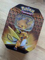 Pokemon TCG Hidden Fates Tin Raichu  - Brand New And Sealed!