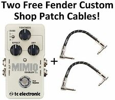 New TC Electronic Mimiq Doubler Guitar Effects Pedal! Fender Patches!