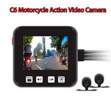 SZV-SYS C6 Motorcycle Biker Action Video Camera Set DVR HD 720p Cameras NEW