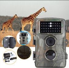 Caméra de Chasse Imperméable HD 12MP 720P Caméra Vidéo Infrarouge Nuit Vision