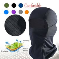 Balaclava Tactical Motorcycle Cycling Outdoor Full Face Mask Helmet Breathable