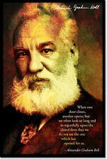 Alexander Graham Bell Arte Foto impresión Poster Regalo citar