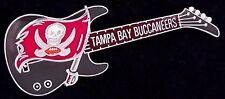 Tampa Bay Buccaneers Guitar Pin - NFL - Football