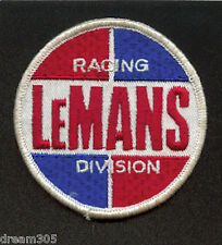 Vintage LeMans Race Car / Motorcycle Patch #1 Racing Steve Mcqueen