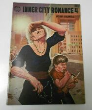 1977 INNER CITY ROMANCE #4 VF+ 5 VF+ 1st Print LAST GASP Guy Colwell LOT of 2