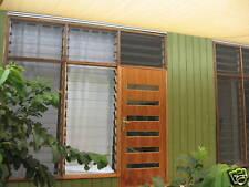 LOUVRE WINDOW FRAMES 580mm high 4 Louver