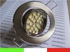 FARETTO LED INCASSO 120° GU10 BIANCO CALDO 3w 220v