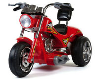 Mini Moto Red Hawk Motorcycle 12v Red or Yellow - Ride On - MM-GB5008