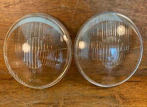 Original Bosch European Ellipsoid Headlight Lenses for Porsche 356