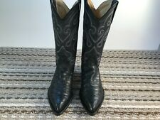 New listing Los Altos, Black, Leather, Anteater Print, Mens Size 7.5Ee