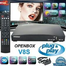 100% GENUINE OPENBOX V8S  WITH 12 IPTV MONTHS PREMIUM GIFT - PLUG AND PLAY!! *