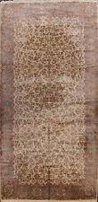 Traditional Floral IVORY Kirman Karastan USA Oriental Area Rug Large Wool 10x18
