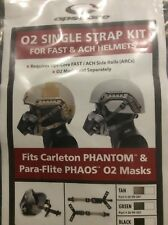 OPS CORE Tactical HELMET O2 Single Strap Set Black