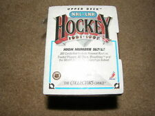 1991/1992 UPPER DECK FACTORY SEALED BOX OF 200 HIGH NUMBER SERIES HOCKEY CARDS