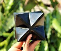 Large 13cm Black Tourmaline Crystal Quartz Stone Chakra Healing Energy Merkaba