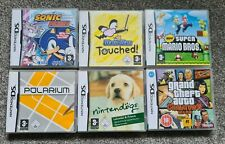 6 x Empty Nintendo DS Game Boxes (No Game Cartridges)