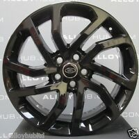"""GENUINE LAND ROVER DISCOVERY 4/3 511 20"""" INCH BLACK HSE LUXURY ALLOYS WHEELS X4"""