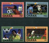 Ghana MiNr. 945-48 postfrisch MNH Fußball (Fuß111