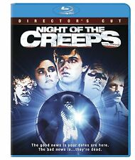 NIGHT OF THE CREEPS : The Director's Cut  -  Blu Ray - Sealed Region free