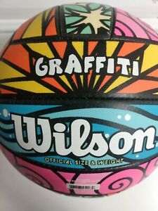 Wilson graffiti official size and weight volleyball
