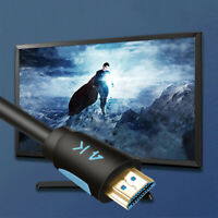 Alloy HDMI Cable Ultra HD Cable V2.0 2K x 4K High Speed  HDTV  New 1.5/2/3 mfw
