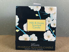 Gift Boxed Waterlily & Vanilla Bean 200g Scented Candle Glass Holder