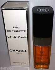 CHANEL CRISTALLE  3.4 oz / 100 ML Eau De Toilette Spray EDT (NEW/VINTAGE) RARE!