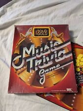 Vintage 1984 IDEAL Solid Gold Music Trivia Retro Family Boatd Game Complete