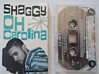 "Shaggy OH CAROLINA (Radio, 12"", Bumba Mixes) / LOVE ME UP  Cassette Single 1993"