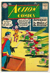 DC Action Comics Issue #273 Comic Book Superman Mr Mxyzptlk World 3.0 GD/VG 1961