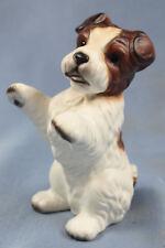 Terrier hund porzellan hund airdale hundefigur royal präsente foxterrier