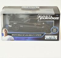 Fast & Furious Brians Nissan Skyline Die Cast 1:32 Scale Collectors Series 2019