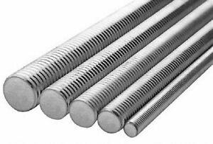 1/2-13 X 3' ASTM F593 All Thread Rod 304 Stainless Steel 12 Sticks