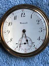 RARE, UNIQUE ANTIQUE Pocket Watch HOWARD E.Howard Watch Co BOSTON 17Jewels