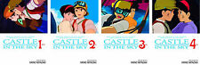 Castle in the Sky Series Collection Set 1-4 English Manga by Hayao Miyazaki New!